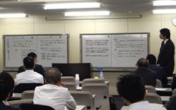 経営計画策定実習勉強会~売上・利益・人財力がアップする!のセミナー風景