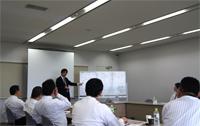 日本一の葬儀社チラシはこう作るの勉強会の様子