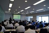 日本一の施行力を体感し、学ぶセミナーの様子