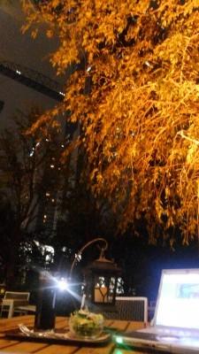 葬儀葬祭業経営コンサルタント中西正人(夜のカフェにて)