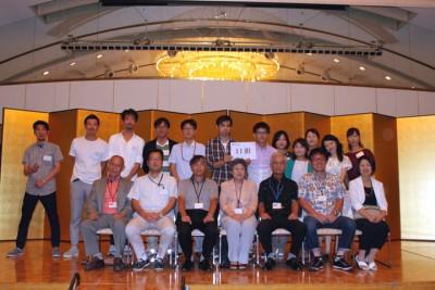葬儀葬祭業経営コンサルタント中西正人(中学同窓会の写真)